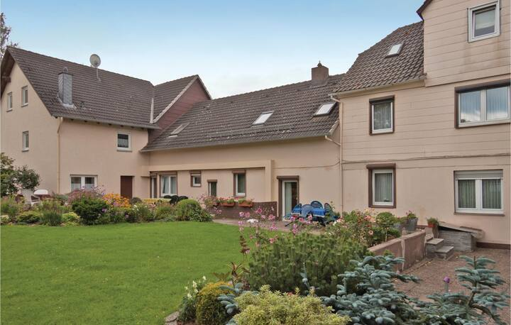Nice home in Fürstenberg with WiFi and 2 Bedrooms