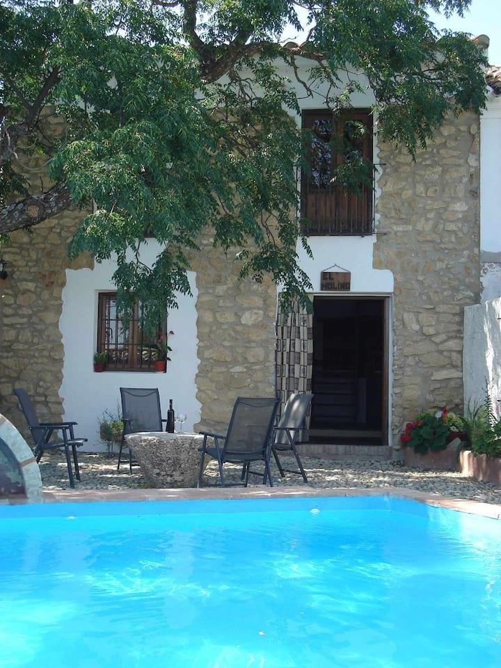 Casa de vacaciones con piscina privada en el oeste de Granada , Andalucia