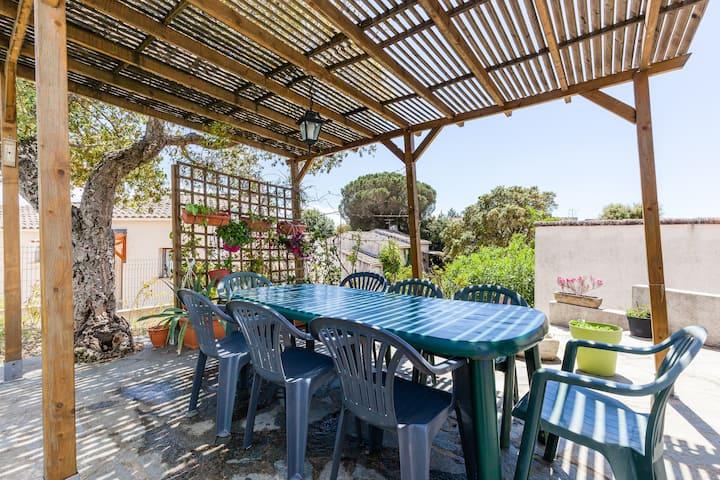 Villa 3 chambres + salon à Ajaccio