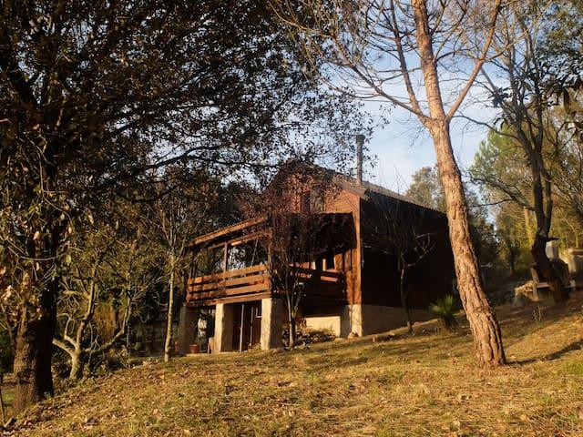 Casa de Madera en el Bosque - Sant Martí de Llémena