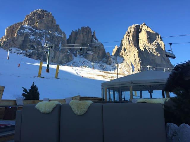 Delizioso appartamento fronte piste - Selva di Val Gardena - Pis