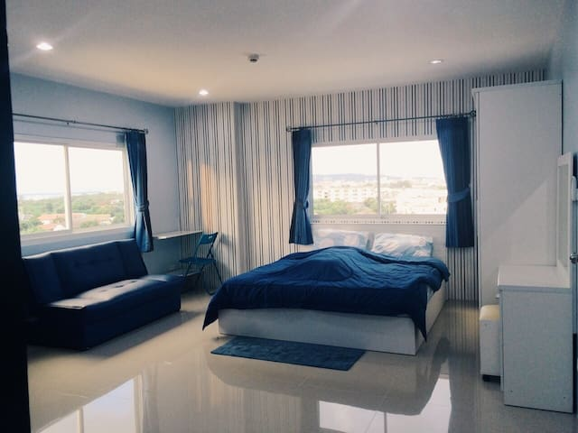 ChonBuri fully-furnished Apartment - Ampoe Moeng
