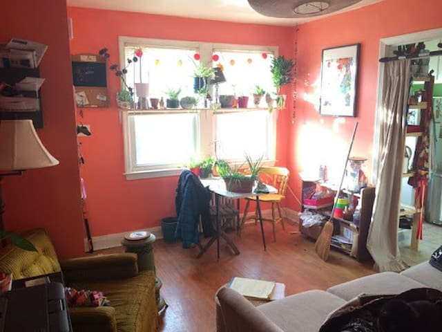 Colorful Villa close to great food and more - Baltimore - Apartment