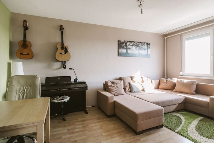 20min from downtown, fully equipped apartment - Budapest - Leilighet