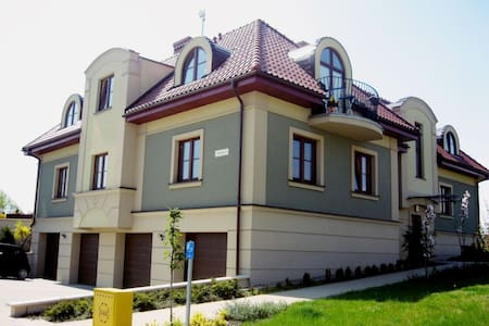 Apartment 75 m on a beautiful estate 20 min. to th - Borkowo Łostowickie
