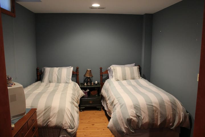BR 4 - Lower Level - 2 Twin Beds