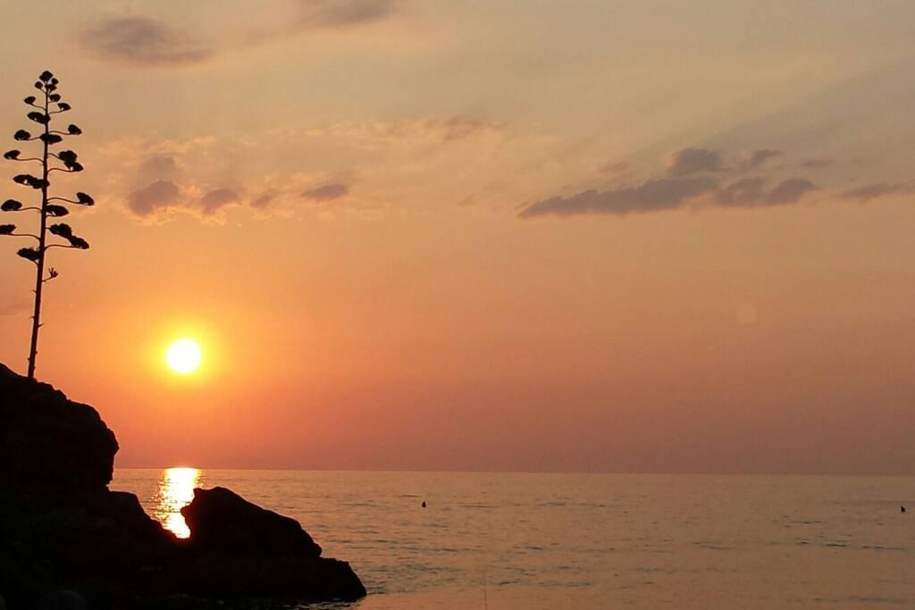 tramonto a Nisportino