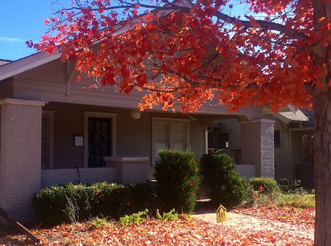 Midtown home with student discount - Tulsa - House