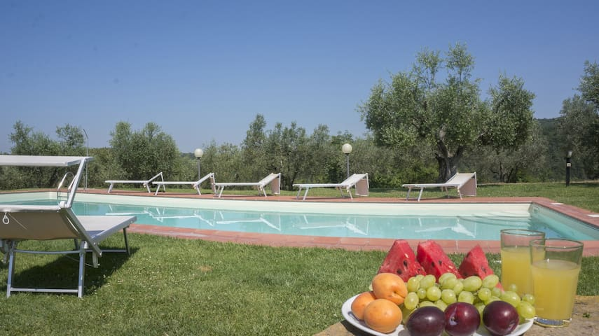 Agriturismo in Chianti  with pool - Greve in Chianti - House