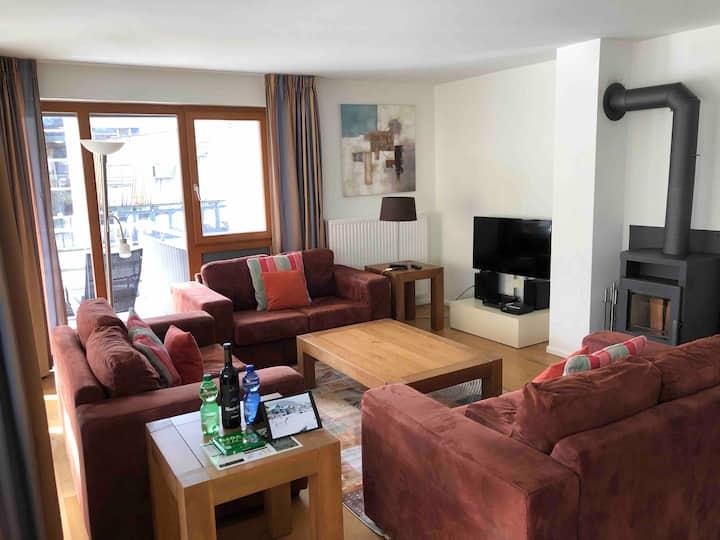 Luxe 3,5 kamer appartement direct aan de Walensee