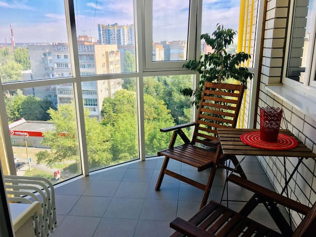 Просторные апартаменты комфорт-класса.