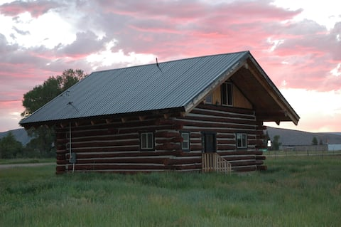 Entire Authentic Log Cabin
