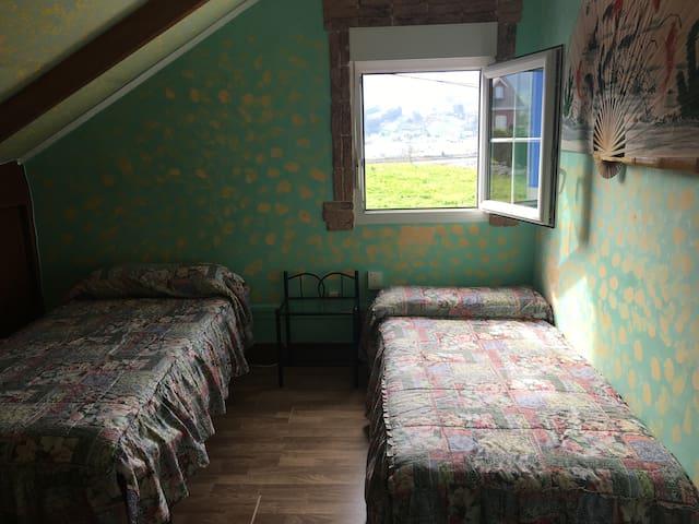 habitación 1. de dos camas