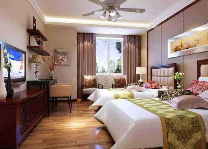 北戴河刘庄夜市电梯洋房,一室一卫温馨舒适。