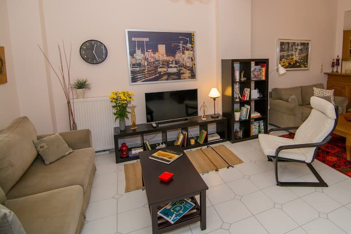 Maisonette in the heart of the city (4 bedrooms)