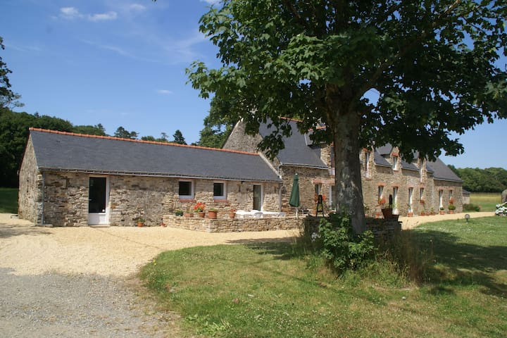 Spacious Holiday Home in Assérac with a Fenced Pond