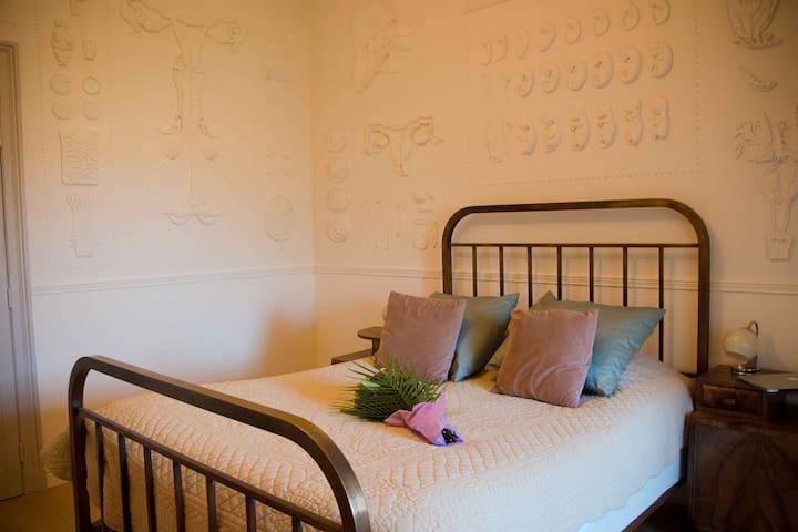 Chambre étage - 1 lit double