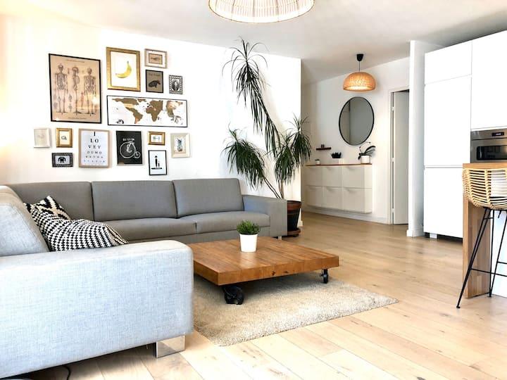 Appartement 80m2 piscine et jardin à Montpellier