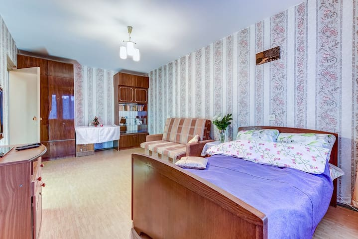Уютная 1-комнатная квартира для Вас