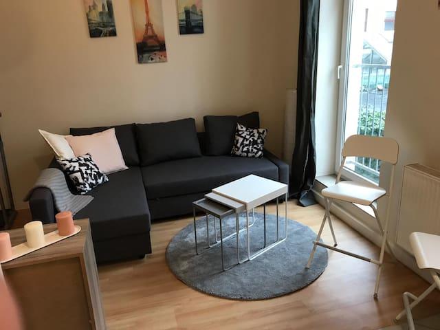 kleines, feines Appartement im Waldstraßenviertel