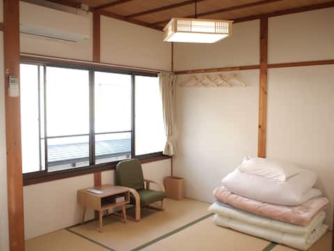 Private Room3★Japanese room shared Shower and Bath