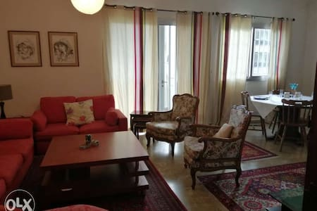 Furnished apartment in the heart of Ballouneh