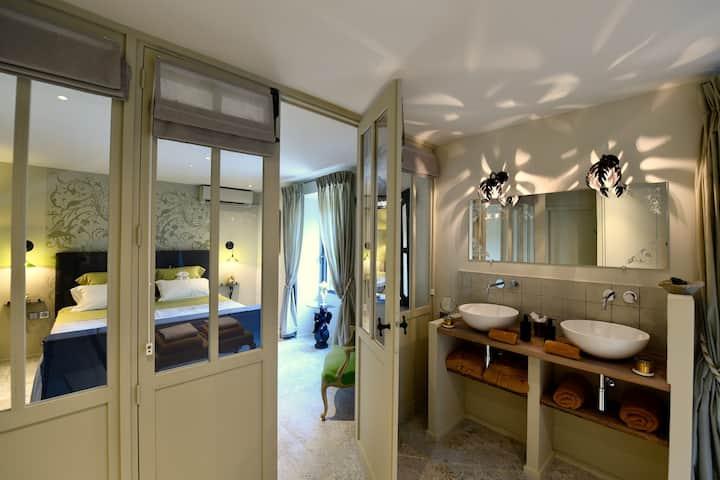 Double room-Luxury-Ensuite with Shower-Patio-1ére étage