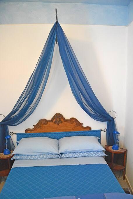La cameretta Blu nella junior suite