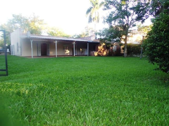 Casa para descansar y disfrutar de la naturaleza