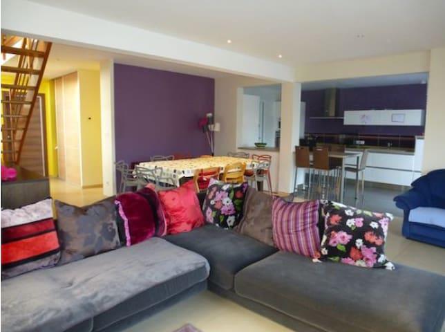 Maison familiale et colorée - 180 m²