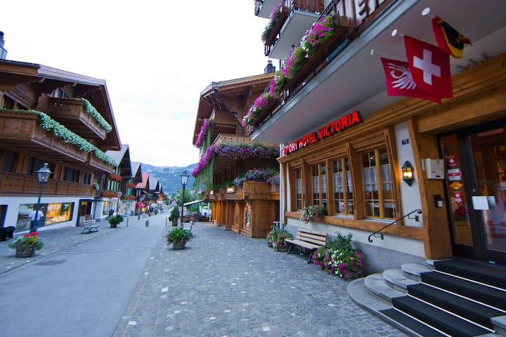 Charmant und zentral am Puls von Gstaad