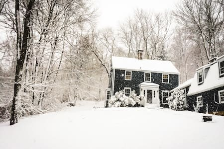 Peaceful New England Retreat - Wood Room - Wilton - Dům