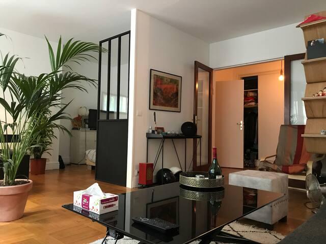 50 m2 Charming Loft Victor Hugo Area