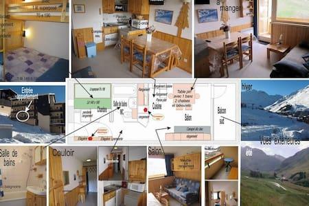App. 4 places aux Ménuires coeur de la montagne - Saint-Martin-de-Belleville - Apartment