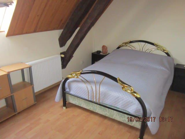 (1)Chambre pour 2 personnes chez l'habitant - Saint-Georges-de-Poisieux - Hus
