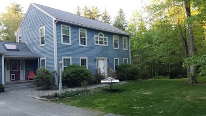 Centrally located colonial home on MDI