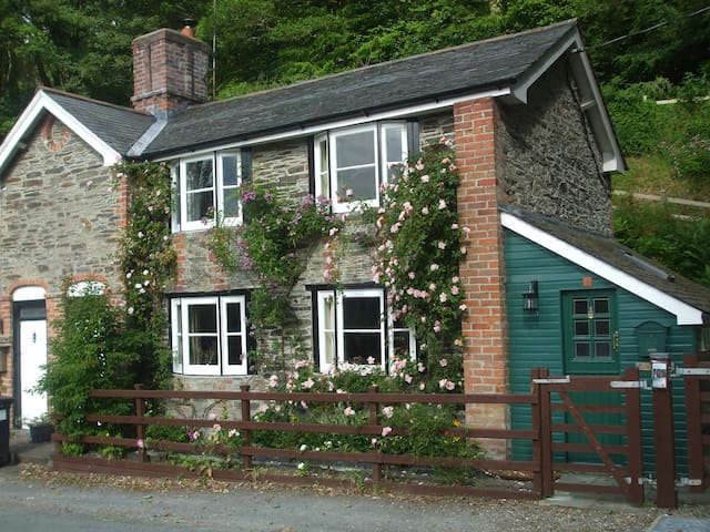 Grade 2 listed cottage, Llanidloes, Mid Wales