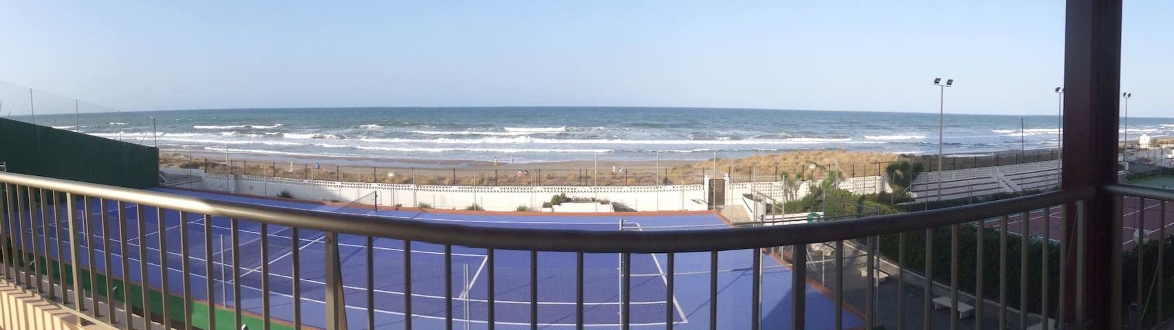 First line 2BR apartment south of Valencia - Mareny de Barraquetes - Apartament