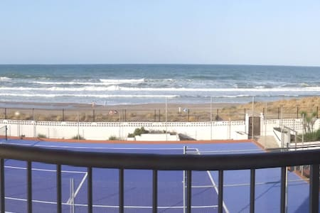 First line 2BR apartment south of Valencia - Mareny de Barraquetes - Wohnung