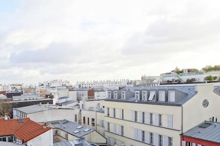 Duplex with view at Père Lachaise