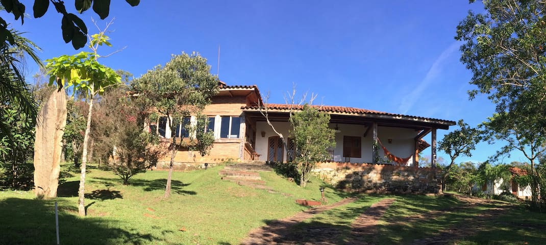 Country house: waterfalls, nature and peace !! - Rio Acima - Cabin