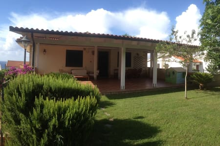 villa near tropea