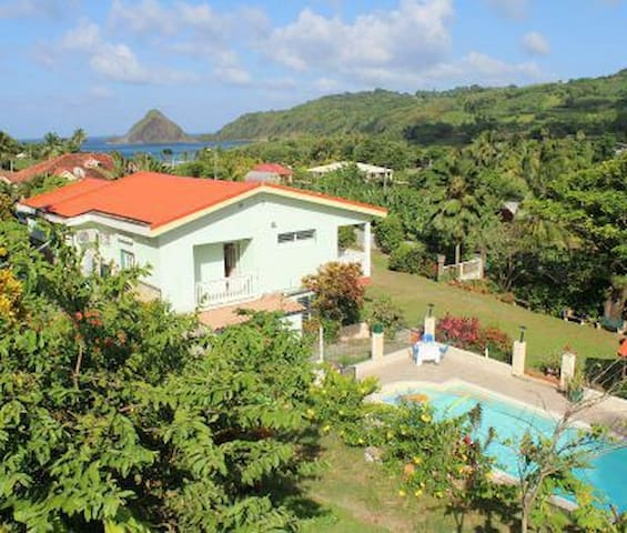 Villa  Ô vert, quiet with swimming pool! - Le Marigot