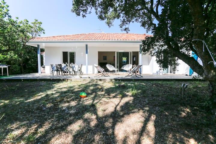 Belle villa au pied de la dune à Seignosse !