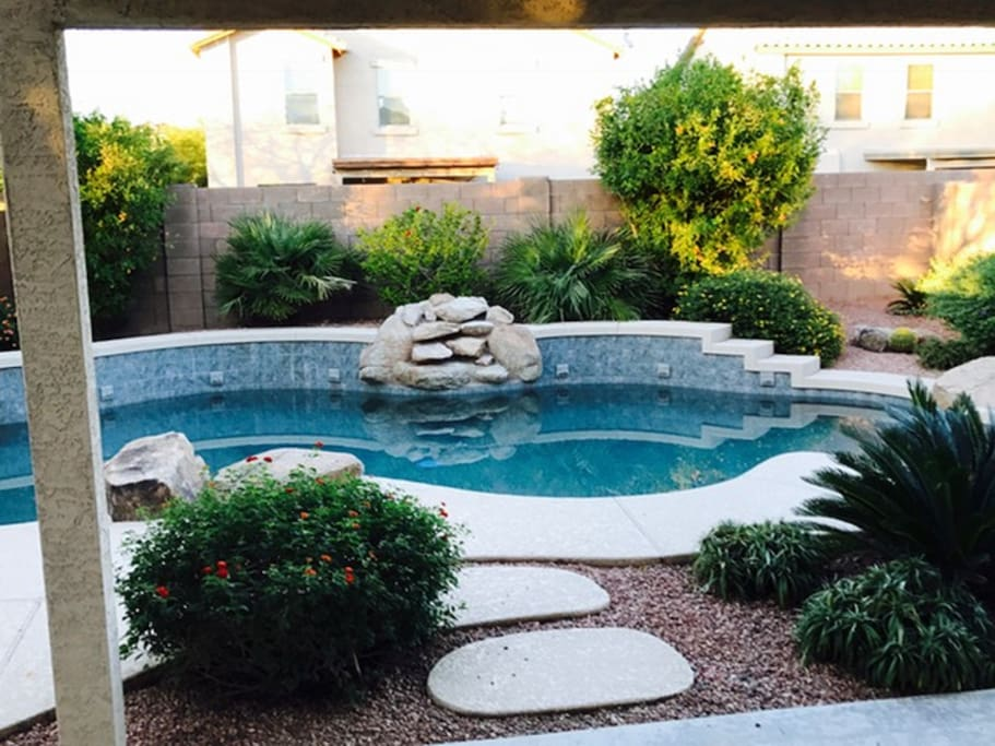 Beautiful Heated Pool in the backyard