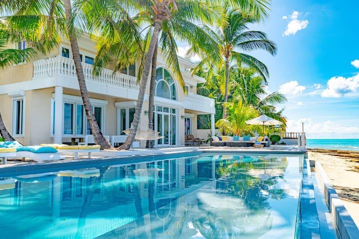 Sea View Beach Villa, private Pool