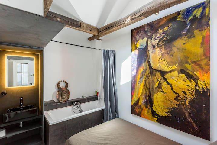 Chambre avec accès indépendant - Paříž - Byt