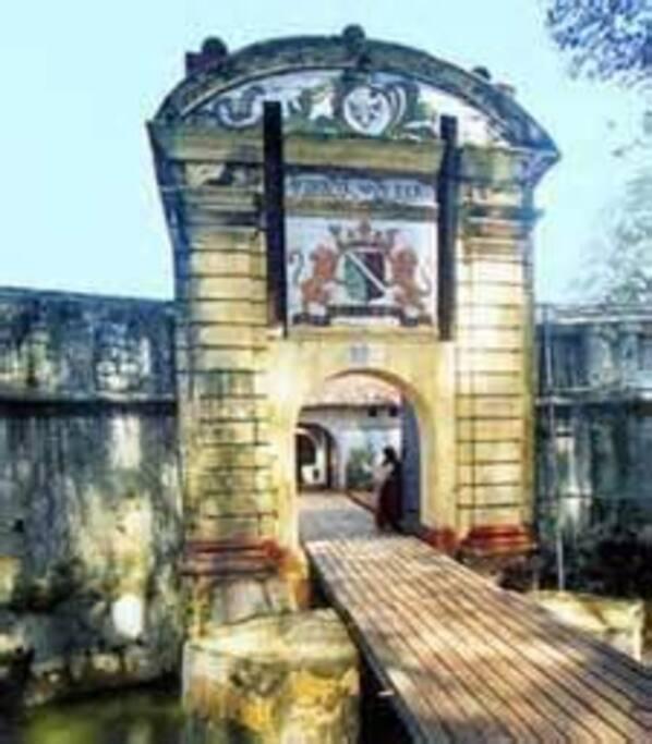 Old Dutch Star Fort Entrance
