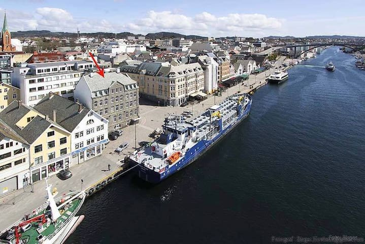 Apartment in Haugesund Center