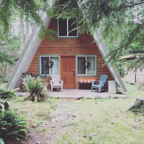 A-Frame Wilderness Escape - Ashford - Stuga